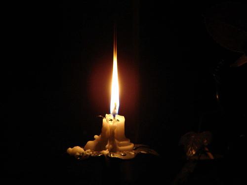 candle photo