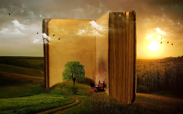 book tree photo